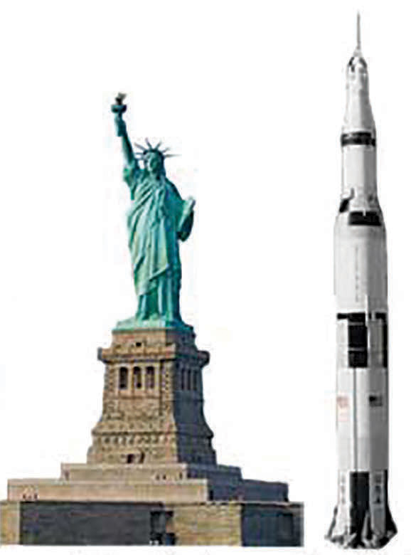 How BIG is Saturn V?