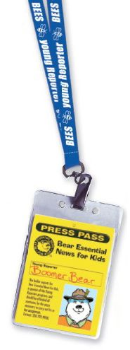 Young Reporter Press Badge