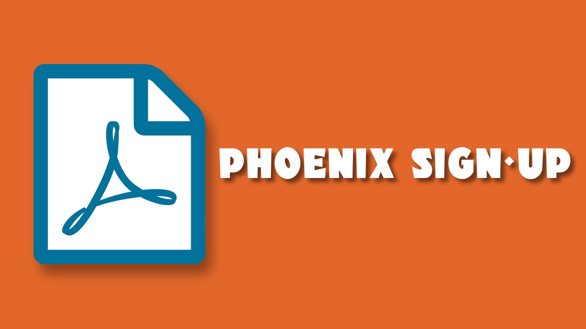 Phoenix Young Reporter Sign-up