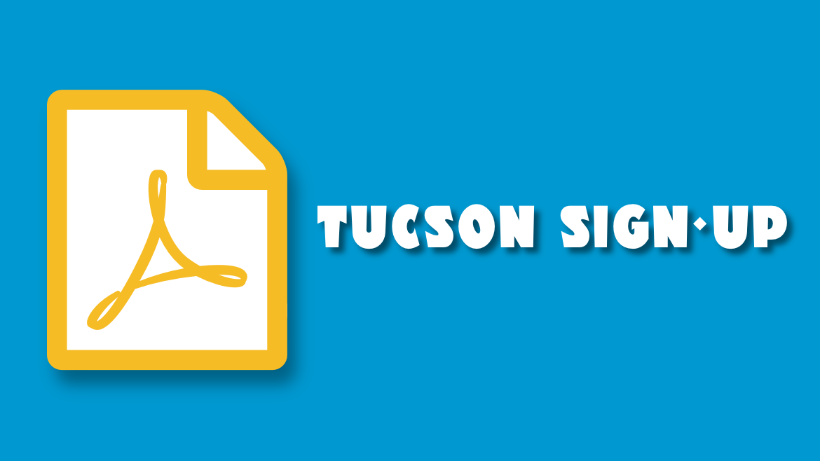 Tucson Young Reporter Sign-up